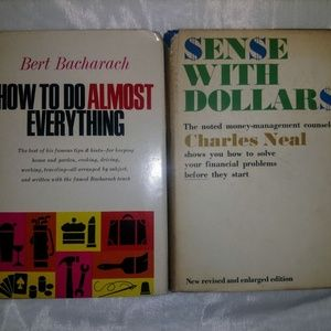 Sense with dollars how to do books Vintage
